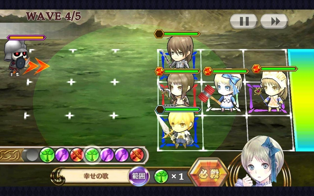 Chain chronicle mana slot